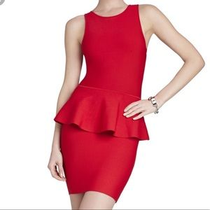BCBG MaxAzria Red Francis Dress
